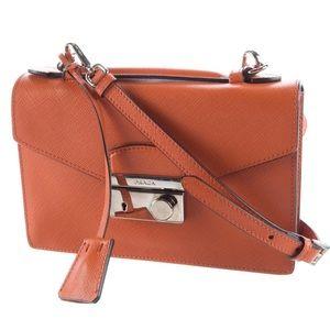 New! PRADA Saffiano Crossbody Bag